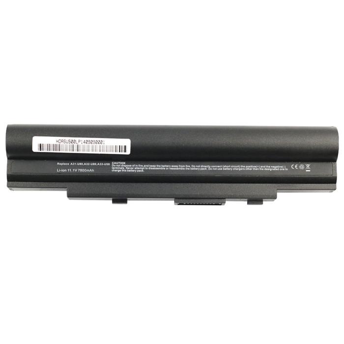 batteries a31 u80 asus asus a31 u80 batterie pc portable. Black Bedroom Furniture Sets. Home Design Ideas