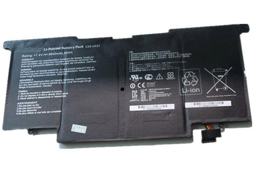 batteries ux31 asus asus ux31 batterie pc portable. Black Bedroom Furniture Sets. Home Design Ideas